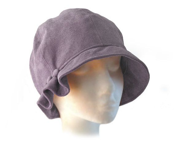 SEWING PATTERN Madeline 1920s Cloche Hat for by ElsewhenMillinery