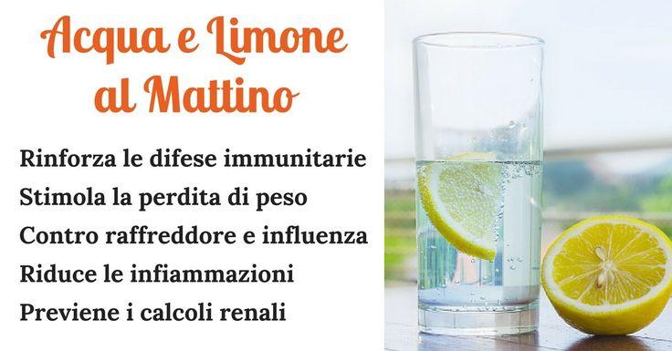 Sorseggiare un bicchiere di acqua calda e limone è uno dei più sani rituali mattutini. Il succo di limone è un potente antiossidante poiché è ricco di vitamine del gruppo B e C, potassio, carboidrati, oli essenziali e altre sostanze nutritive. Un consumo regolare di succo di limone fornisce una spinta potente al nostro sistema immunitario, migliora la digestione, riduce l'appetito, stimola la perdita di peso in maniera sana ed equilibrata e favorisce un corretto equilibrio del pH del nost...
