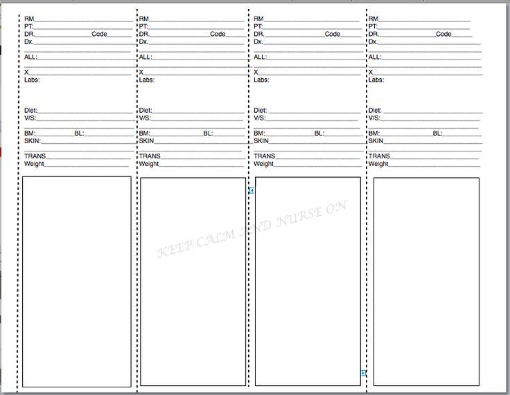 Best 25+ Nurse brain sheet ideas on Pinterest Nurse report sheet - progress sheet template