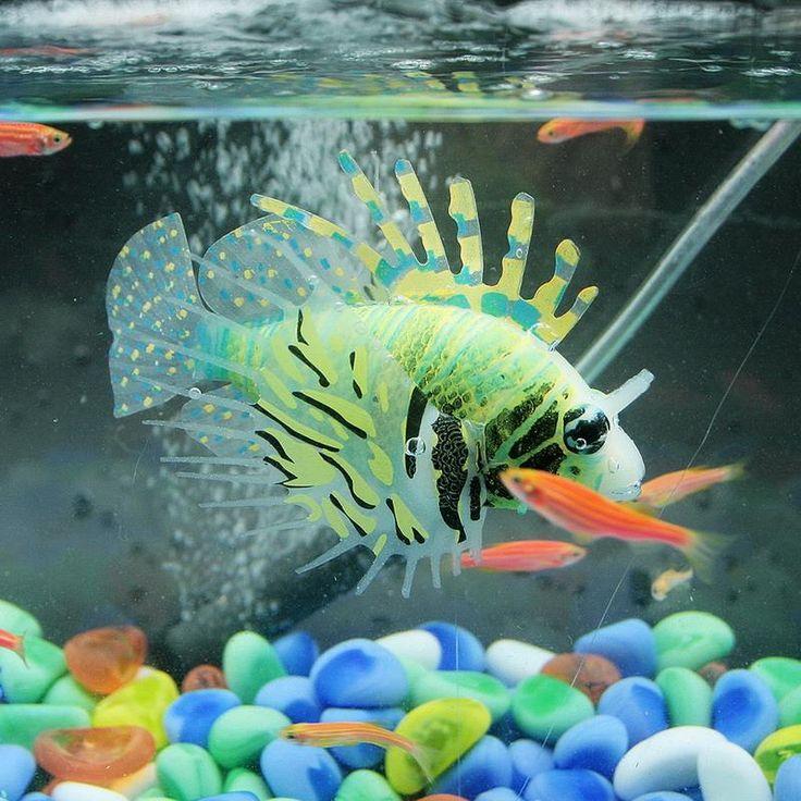 Best 25 fake fish tank ideas on pinterest cheap fish for Fake artificial aquarium fish tank