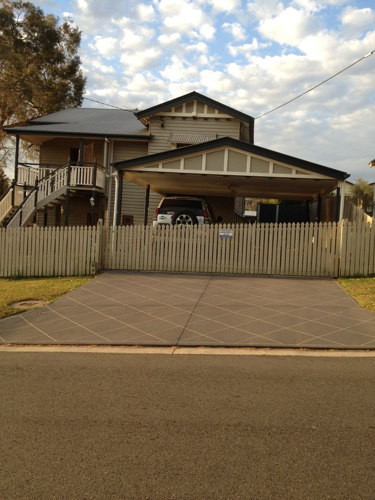 double carport for a queenslander