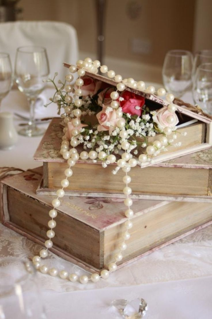 shabby u chic vintage wedding decor ideas