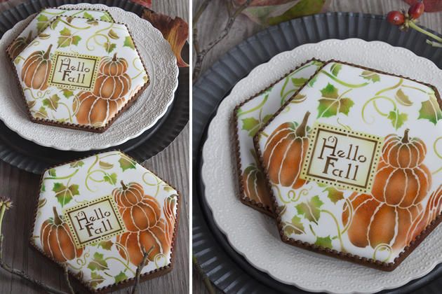 """#NEW STENCIL ALERT: My August Prettier Plaques stencils are now here!  For my Stencil of the Month (""""Hello Fall"""") and big savings on all of my stencils: https://tinyurl.com/jcdggvs   For my complete Prettier Plaques stencil series: www.stencilease.com/juliausher.htm  For more about my August release: https://tinyurl.com/yche8zdt"""