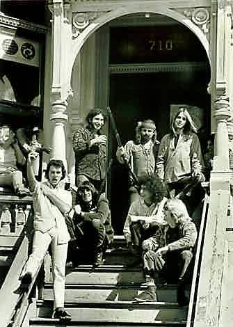 Grateful Dead house - 1966, bankrolled by chemist/LSD manufacturer Stanley Owsley, the Grateful Dead and extended families moved into a communal house situated at 710 Ashbury Street, in San Francisco's Haight-Ashbury.