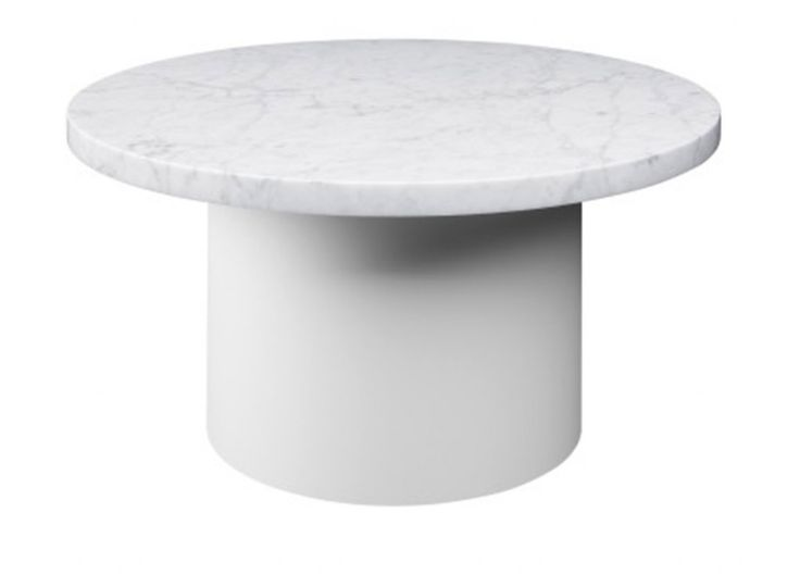 With The Smart And Playful Side Tables ENOKI, Introduces Marble For The  Collection, Applying It To Novel Form.