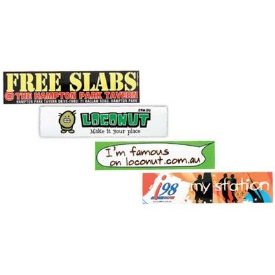 Full Colour Promo Vinyl Sticker 75mm x 210mm Min 1000 - Promotional Giveaways - Promotional Stickers - HCL-GPS1031 - Best Value Promotional items including Promotional Merchandise, Printed T shirts, Promotional Mugs, Promotional Clothing and Corporate Gifts from PROMOSXCHAGE - Melbourne, Sydney, Brisbane - Call 1800 PROMOS (776 667)