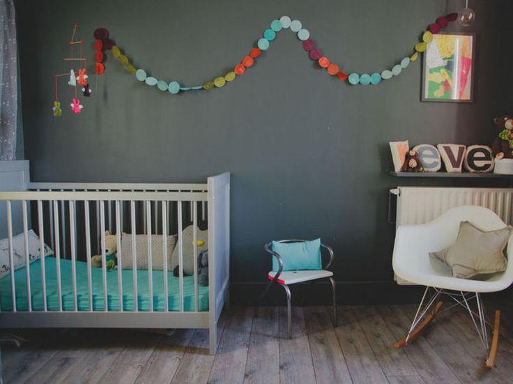 Maison Moderne Facade Bois :  deco chambre bebe on Pinterest  Eames rocker, Turquoise and Deco