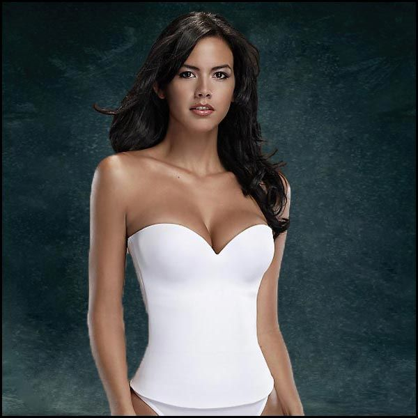 Of course I will buy sexy wedding lingerie to change into but hi-tech microfiber seamless underthings are the way to go for a wedding! They smooth, curve, and support your body in all the right places!