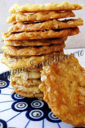 Печенье Анзак овсяное