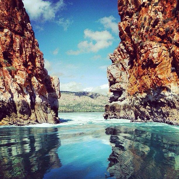 Horizontal Falls, Kimberley Region, Western #Australia  by frangina (instagram)