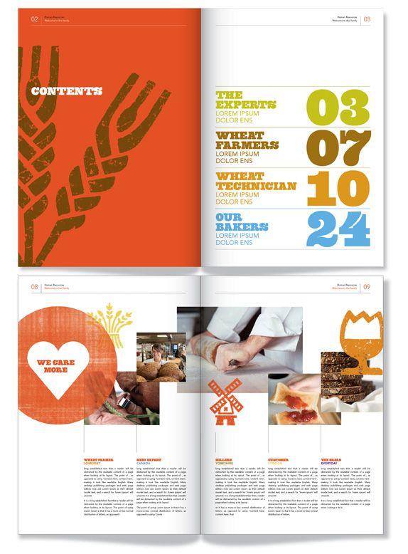 WarburtonsBrand Guidelines, Big Numbers, Layout Design, Graphics Design, Brochures Design Layout, Design Inspiration Brochures, Editorial Design, Public Design, Design Layouts