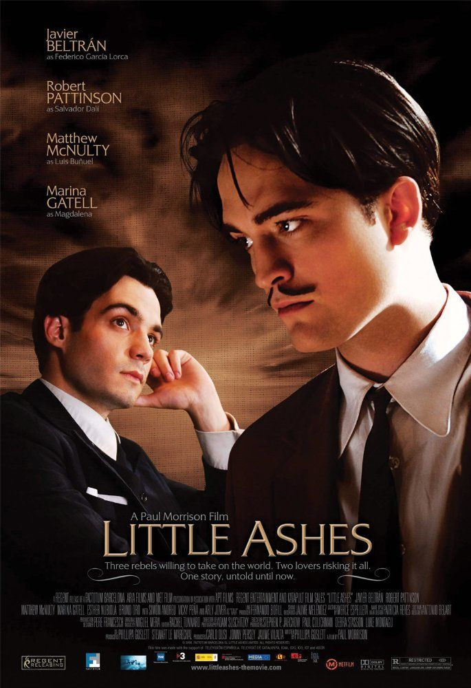 Directed by Paul Morrison.  With Robert Pattinson, Javier Beltrán, Matthew McNulty, Marina Gatell. About the young life and loves of artist Salvador Dalí, filmmaker Luis Buñuel and writer Federico García Lorca.