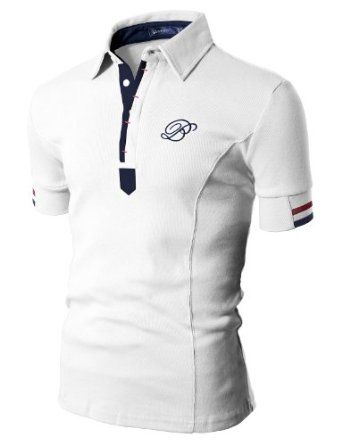 Mens Polo T-shirts with Short Sleeve