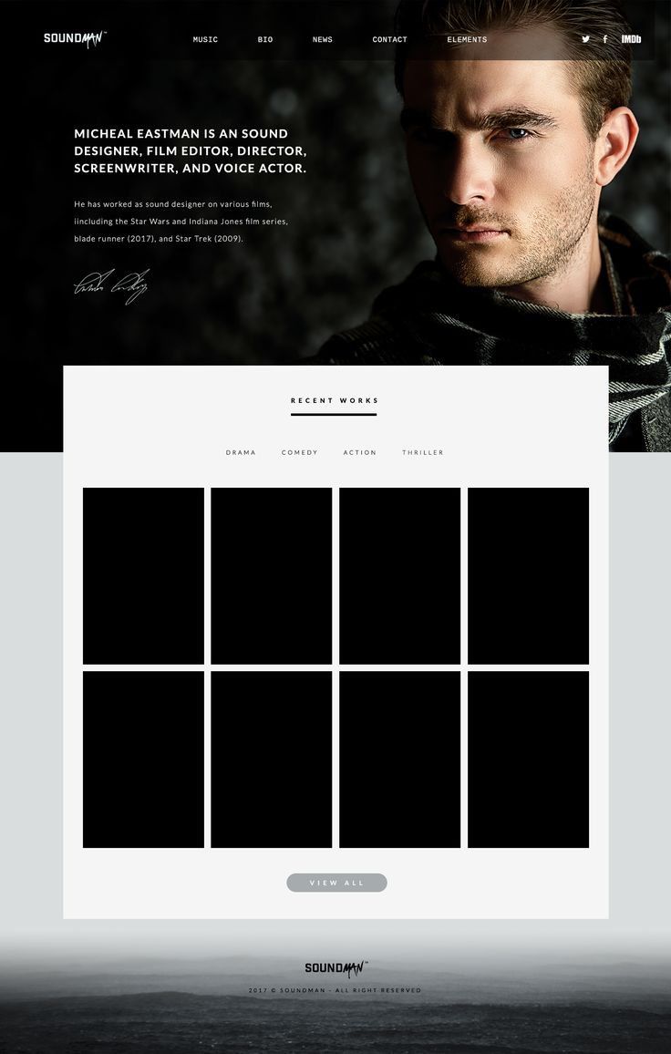 12 best sonaar website templates images on pinterest soundman is a stunningly fresh minimalist and modern responsive wordpress theme for music producer music composer and sound designer maxwellsz