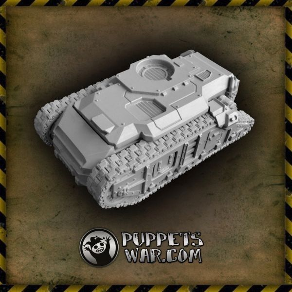 One more vehicle today - last one for this week, we promise:) Ursus APC https://puppetswar.eu/product.php?id_product=550