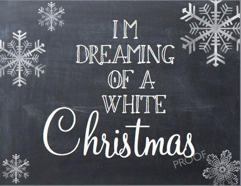 White Christmas PDF Christmas Decor Christmas Sign Christmas Mantle