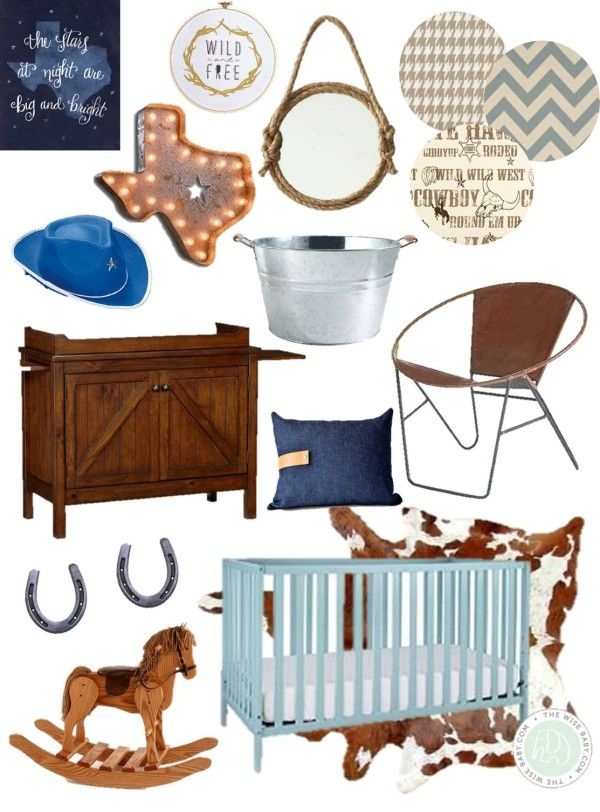 Cowboy Themed Nursery