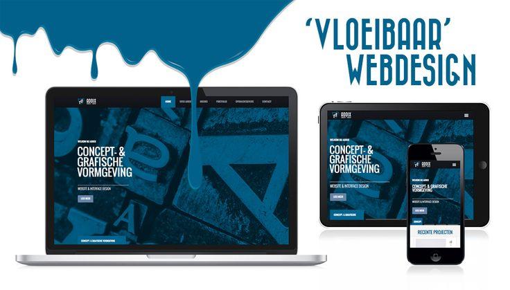 Achter de schermen hebben we tijdens de zomermaanden hard gewerkt aan een nieuwe website. Een uitgebreide portfolio met gevarieerde projecten, een verfrissende vormgeving en qua techniek weer helemaal up to date. Onze website is vanaf nu ook responsive….. als het ware 'vloeibaar'.