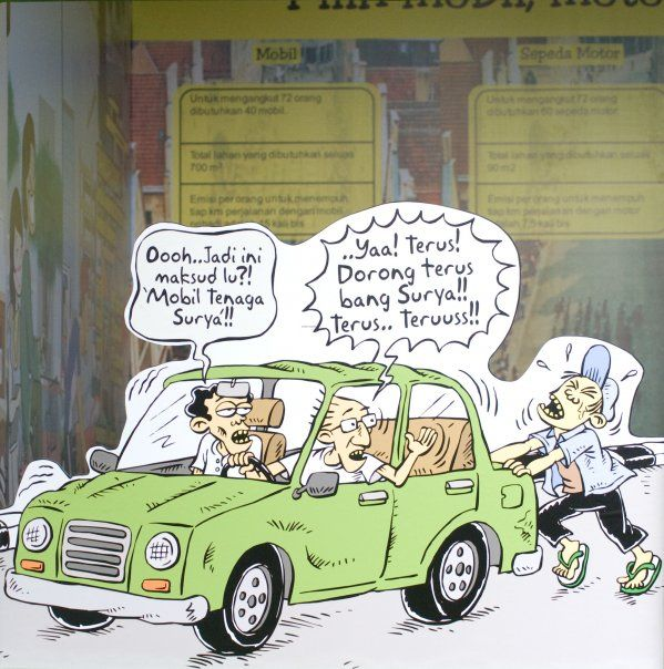 Kartun Benny & Mice: Green Fest - Mobil Tenaga Surya
