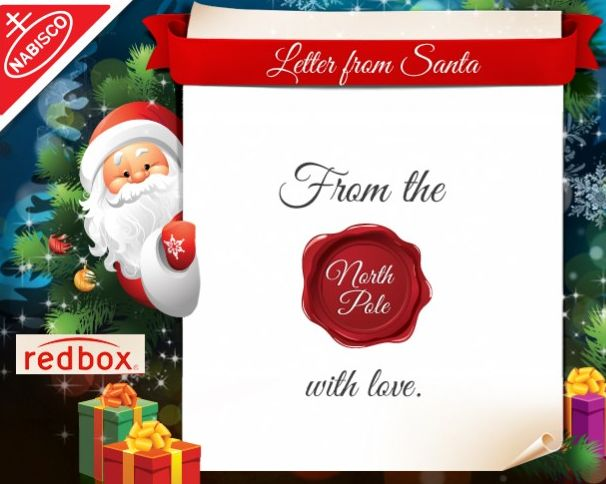FREE Customized Letter from Santa!