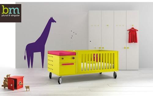 BM 2000, el color en los muebles para el bebé