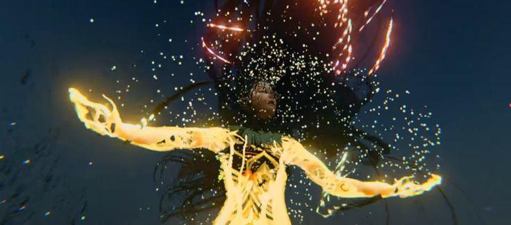 """Björk powraca i ma dla swoich fanów kolejną wycieczkę do świata wirtualnego. Islandzka artystka zaprezentowała nowy teledysk do utworu """"Notget"""". http://exumag.com/bjork-klip-notget-vr/"""