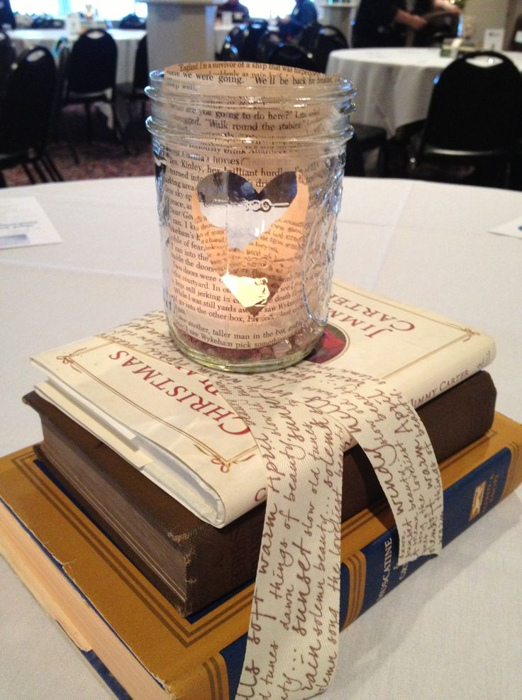 Our fundraiser centerpiece the original plan was to also