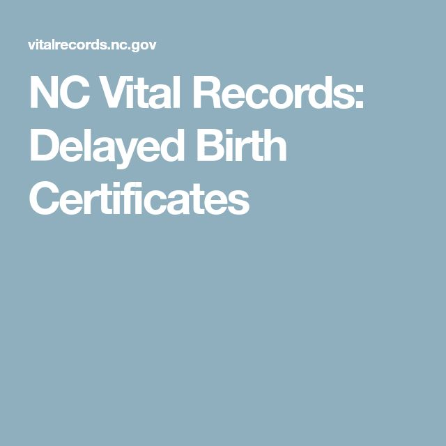 Vital records birth certificate on pinterest find birth nc vital records delayed birth certificates yelopaper Images