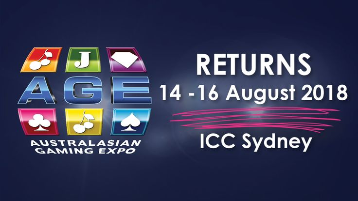 The Australasian Gaming Expo returns to ICC Sydney 14-16 August 2018