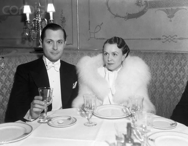 Robert Montgomery with first wife, Elizabeth Allen (1928 ...