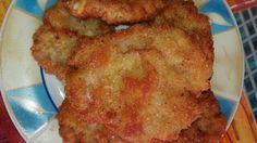 Rántott hús darált húsból