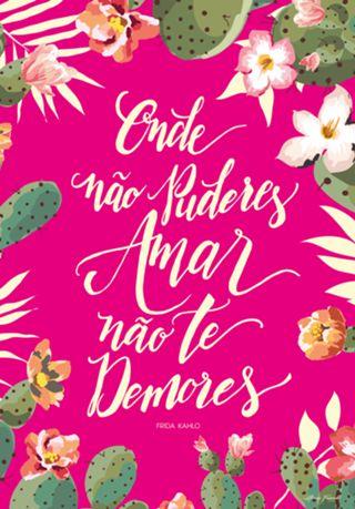 Poster FRIDA do Studio Alinnedesign por R$45,00