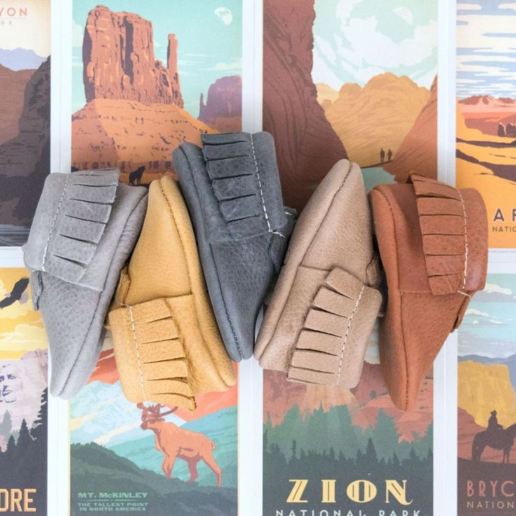 Freshly Picked Moccasins | Utah Collection