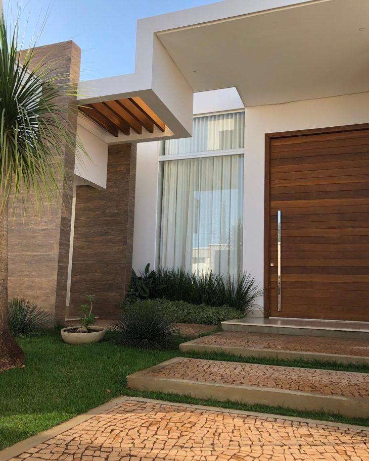 Main Door Design, House Front Design, Modern House Design, Small House Design, Villa Design, Modern Entrance, House Entrance, House Doors, Modern Exterior