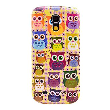 Colorful Owls Pattern Hard Back Cover Case for Samsung Galaxy S4 Mini I9190   Pinterest   Phone, Samsung galaxy s4 and Nice