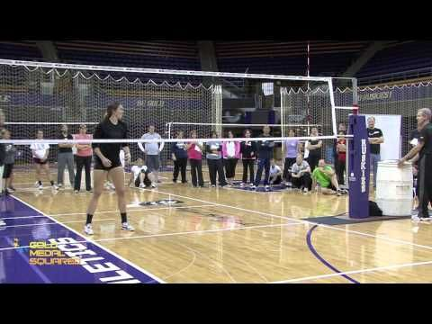 Transition Footwork - Gold Medal Squared Volleyball Camps and Clinics - YouTube