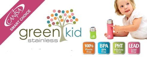 Green Kid Bottle