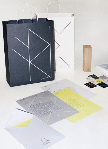 Visual Identityfor VIKING, Danish graphic- and art-material store.  See more here: www.mariebrogger.dk