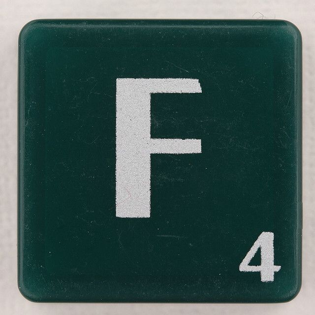 F is the letter of using one's talents and service to others. F is consciousness that is grounded, creative, organize, expressive, interesting, all-in-one package. It is the only lowercase letter to occupy all three zones: upper, mid, and lower. The letter F represents acknowledging our gifts, expressing them for the benefit of society, and at the same time being totally unattached how they are manifested.--Vimala Rodgers