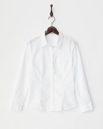 ホワイト EASY CAREスキッパーカラー風シャツ - アリスバーリー|ブランド通販(セール)なら【グラムール セールス】