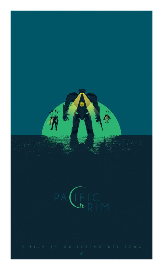 PACIFIC RIM - Collection of Cool Original Poster Art - Part 2 — GeekTyrant