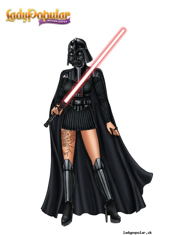 Summer D. as a hero from Star Wars ;)