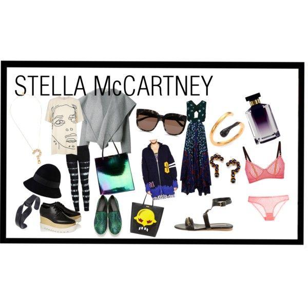 """STELLA McCARTNEY"" by adelasstyle on Polyvore"