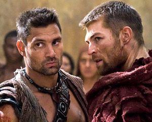Great blooper. http://tvline.com/2012/08/29/spartacus-bloopers-liam-mcintyre-manu-bennett-crixus/ Spartacus: Vengeance Exclusive 'Blooper': Wait, Our Protagonist and Crixus Said What?!    Read More at: http://tvline.com/2012/08/29/spartacus-bloopers-liam-mcintyre-manu-bennett-crixus/##utm_source=copypaste_campaign=referral