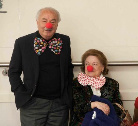 Great Grandparent clowns! Circus party