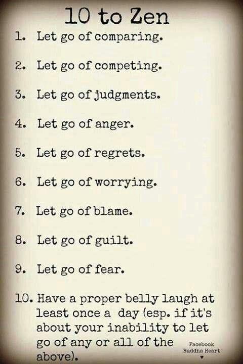 10 to Zen - it's a lifestyle!