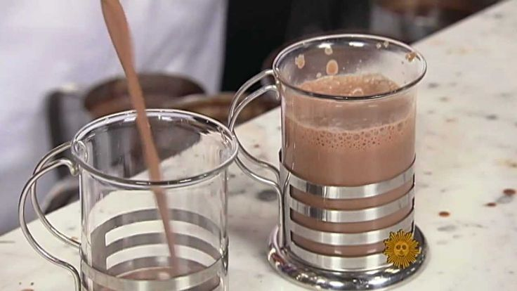 The history of hot chocolate