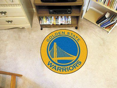 NBA   Golden State Warriors Roundel Mat