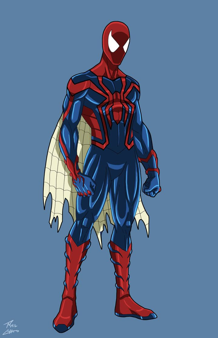 Spider-man Unlimited-redesign by Otaku-Cave