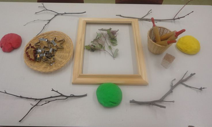 "Autumn Playdough Provocations from The Curious Kindergarten ("",)"